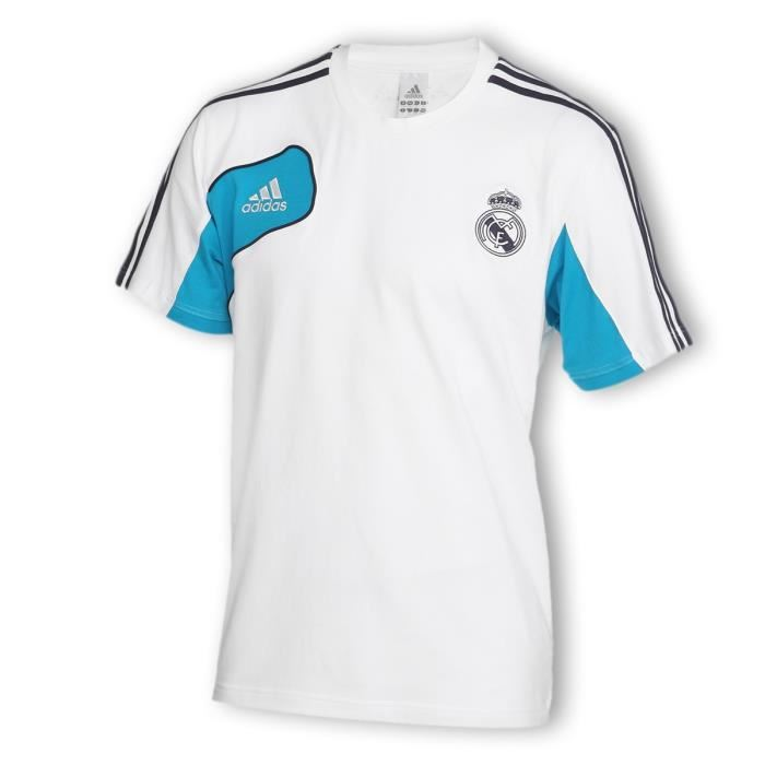 adidas tee shirt real madrid homme adidas pickture. Black Bedroom Furniture Sets. Home Design Ideas