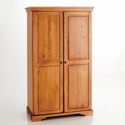 armoire penderie pin massif style louis philippe la. Black Bedroom Furniture Sets. Home Design Ideas