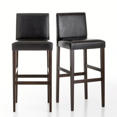 tabouret de bar tulsa lot de 2 la redoute pickture. Black Bedroom Furniture Sets. Home Design Ideas