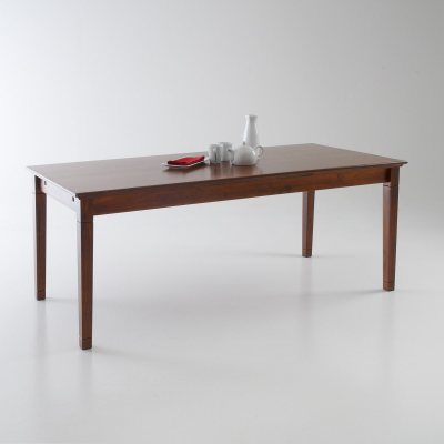 Table allonges pin massif 10 couverts bangor la for Table 10 couverts