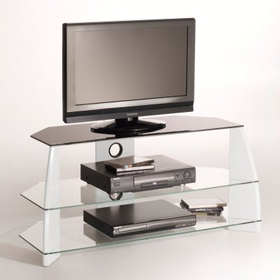 Meuble tv hifi design newark la redoute pickture for Meuble hifi tv design