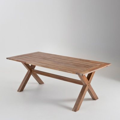 Table de jardin acacia fsc l180 cm la redoute pickture - Table de jardin la redoute ...