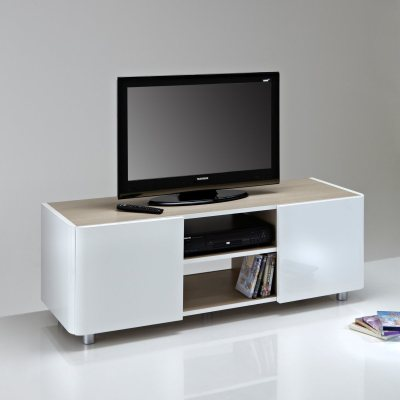 meuble tv design pour cran jusqu 39 60 pouces la redoute. Black Bedroom Furniture Sets. Home Design Ideas