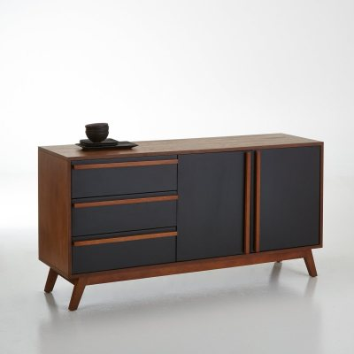 buffet vintage en noyer watford la redoute pickture. Black Bedroom Furniture Sets. Home Design Ideas