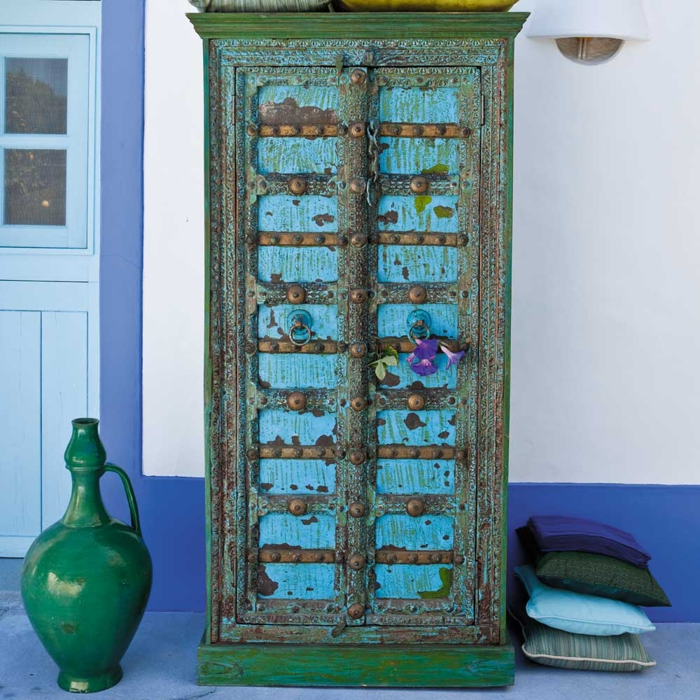 Armoire indienne madras maisons du monde pickture for Banquette indienne maison du monde