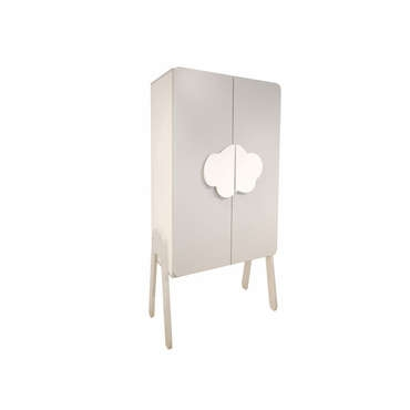 armoire b b nimbus coloris gris perle conforama pickture. Black Bedroom Furniture Sets. Home Design Ideas