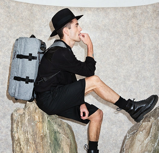 Wheels Sunday Back Bag Eastpak At Grey Wow W8q1ey p1x01f