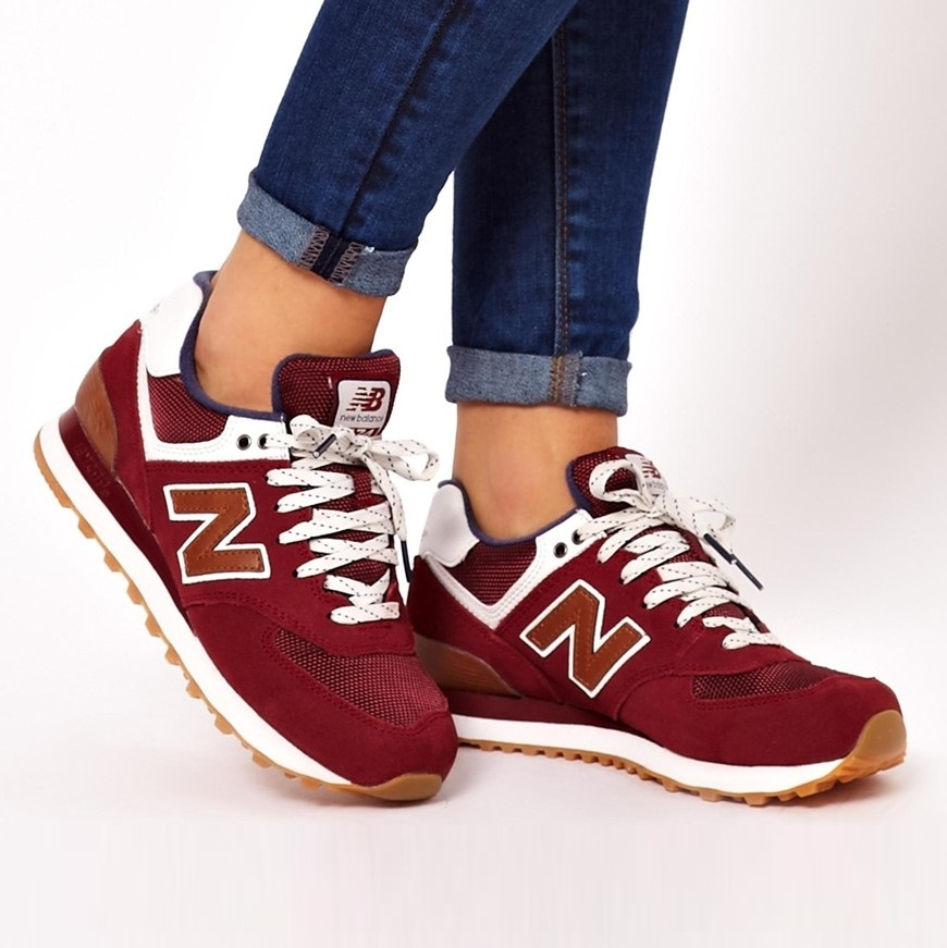 New Balance Homme 574 Bordeaux