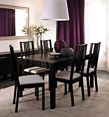 bjursta table extensible ikea pickture. Black Bedroom Furniture Sets. Home Design Ideas