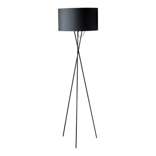 lampadaire carla noir maisons du monde pickture. Black Bedroom Furniture Sets. Home Design Ideas