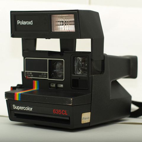 polaroid 635 cl supercolor instant camera polaroid pickture. Black Bedroom Furniture Sets. Home Design Ideas