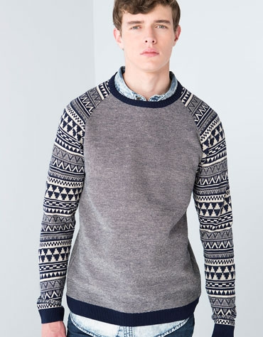 classic style official store performance sportswear pull homme bershka