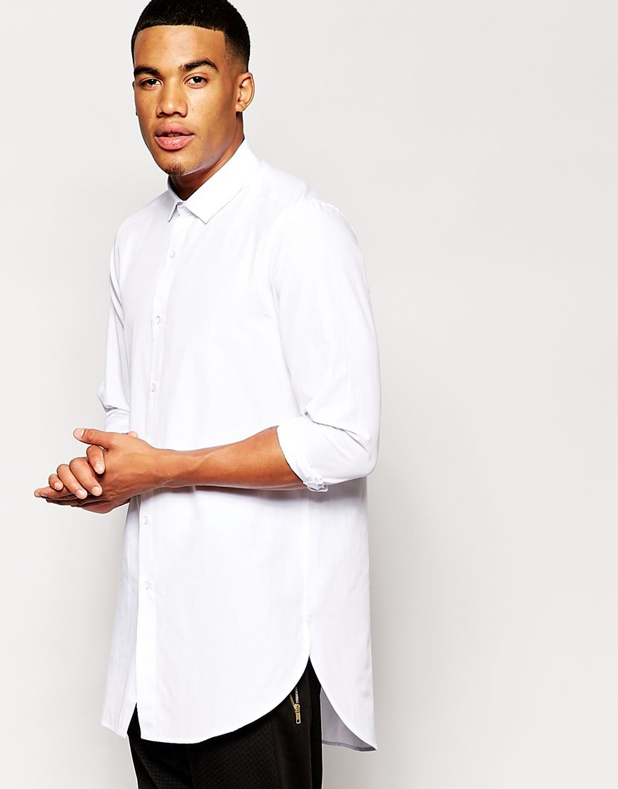 Chemise Homme Longue E2eiwhyd9 Blanche Manche Italienne 8wnX0OPk
