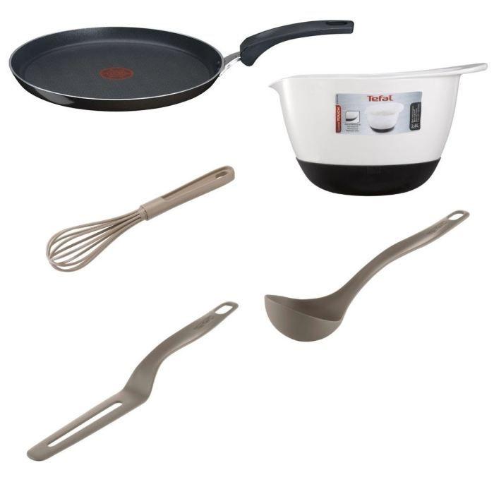 Tefal 5 ustensiles de cuisine pour crepes tefal pickture for Ustensiles de cuisine grenoble