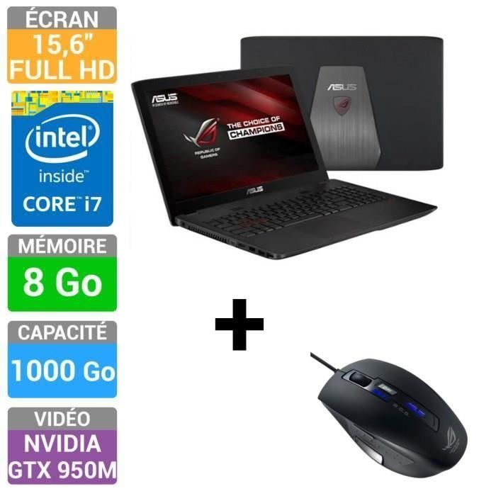 asus rog pc portable gamer gl552jx dm089h asus asus. Black Bedroom Furniture Sets. Home Design Ideas