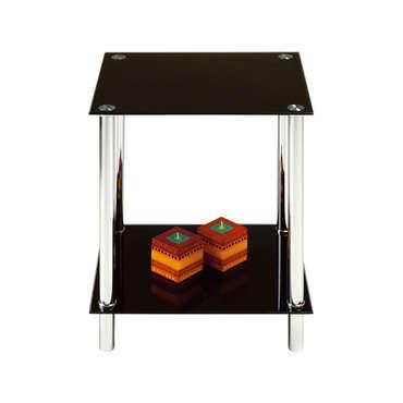 bout de canap happy coloris noir table basse conforama pickture. Black Bedroom Furniture Sets. Home Design Ideas