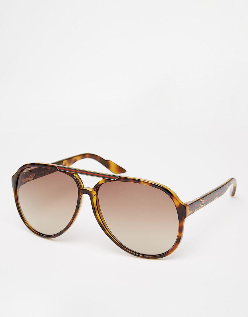 gucci lunettes de soleil aviateur gucci pickture. Black Bedroom Furniture Sets. Home Design Ideas