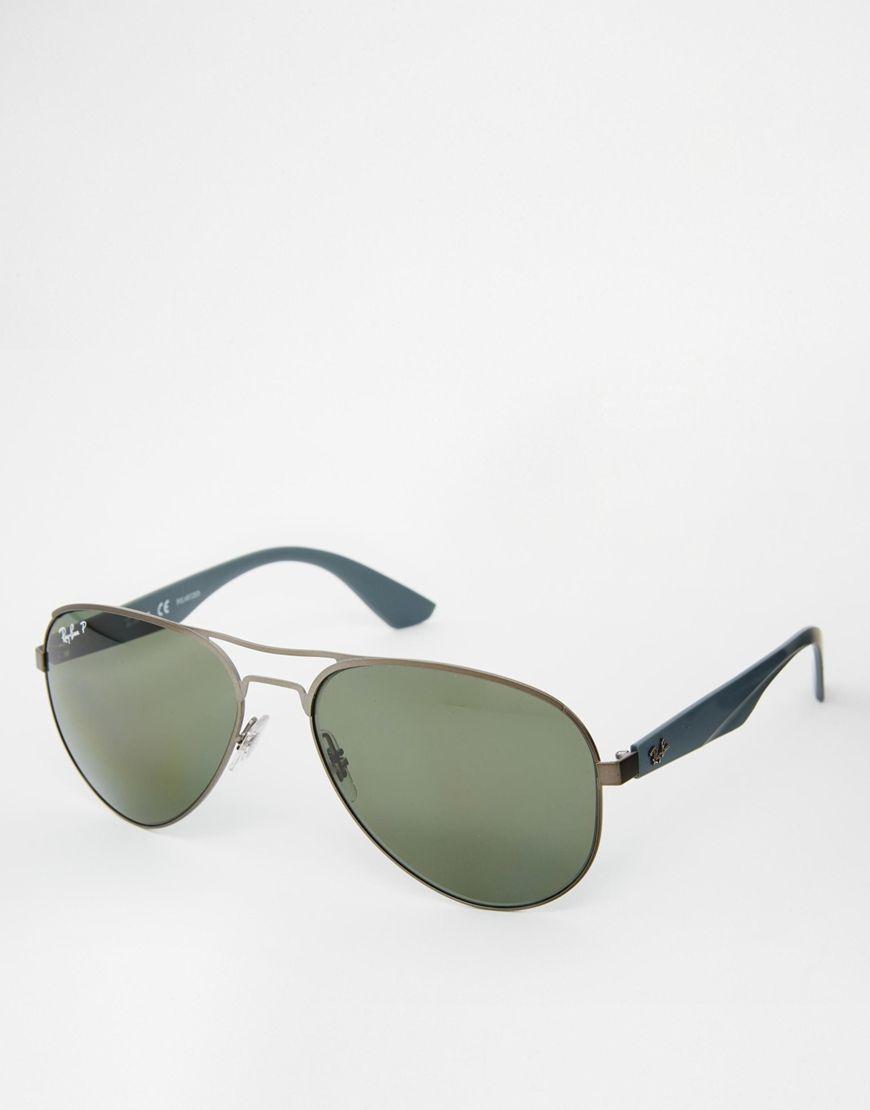 ray ban lunettes de soleil aviateur polaris es ray ban pickture. Black Bedroom Furniture Sets. Home Design Ideas