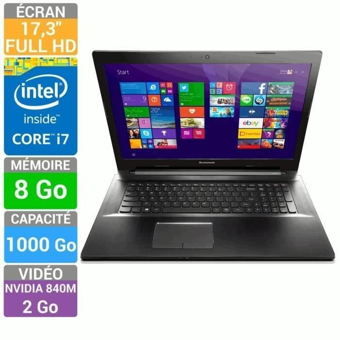 lenovo pc portable z70 80 core i7 17 3 lenovo pickture. Black Bedroom Furniture Sets. Home Design Ideas