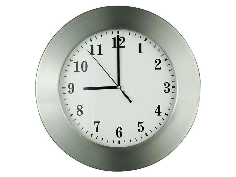 horloge conforama horloge rouage coloris gris vente de. Black Bedroom Furniture Sets. Home Design Ideas