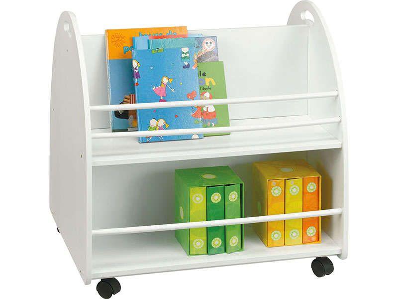 biblioth que enfant ken coloris blanc conforama pickture. Black Bedroom Furniture Sets. Home Design Ideas