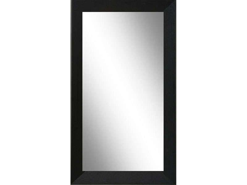Miroir dessus de bahut 60 x 120 cm coloris noir for Miroir bahut