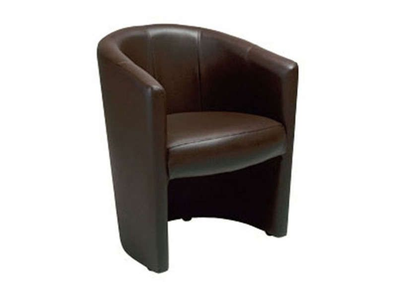 fauteuil cabriolet mino coloris chocolat conforama. Black Bedroom Furniture Sets. Home Design Ideas