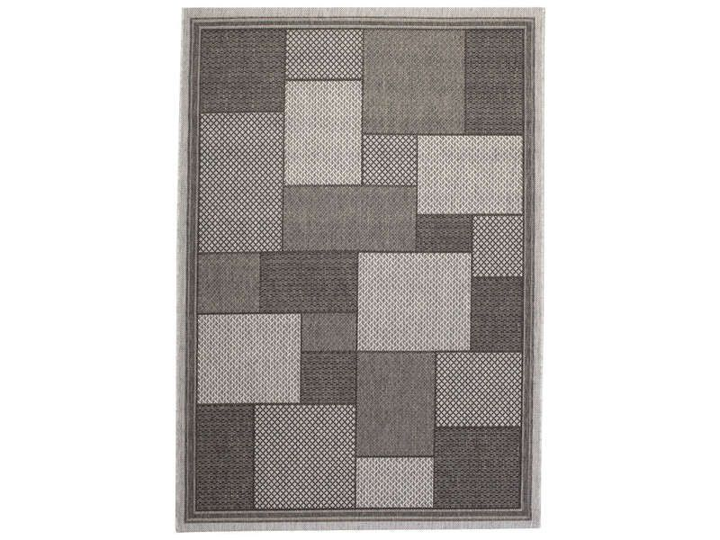 tapis 120x170 cm 100 polypropyl ne decora patch. Black Bedroom Furniture Sets. Home Design Ideas