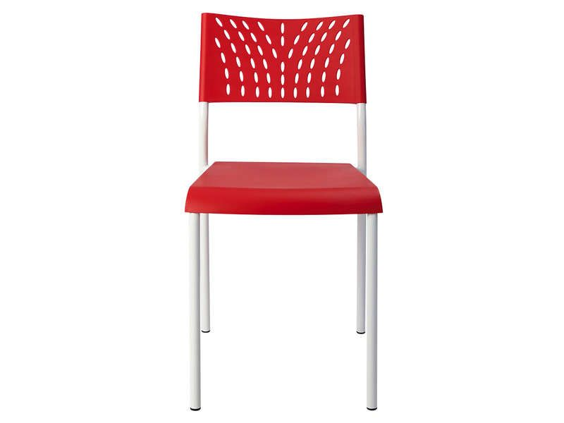 Chaise design coloris rouge conforama pickture - Chaise rouge conforama ...