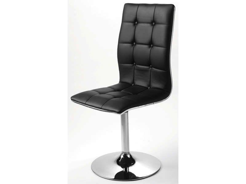 chaise bale coloris noir conforama pickture. Black Bedroom Furniture Sets. Home Design Ideas