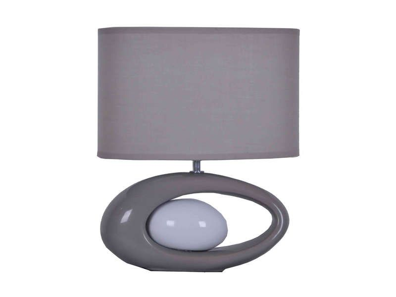 Lampe warren gris conforama pickture - Lampe de chevet conforama ...