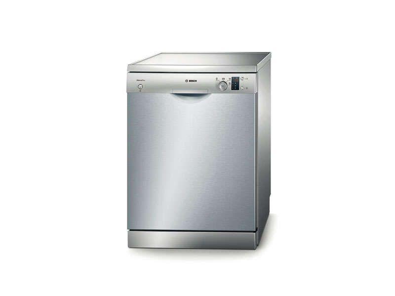 Lave vaisselle 48db coloris inox bosch sgs 55e98 bosch for Lave vaisselle faible largeur