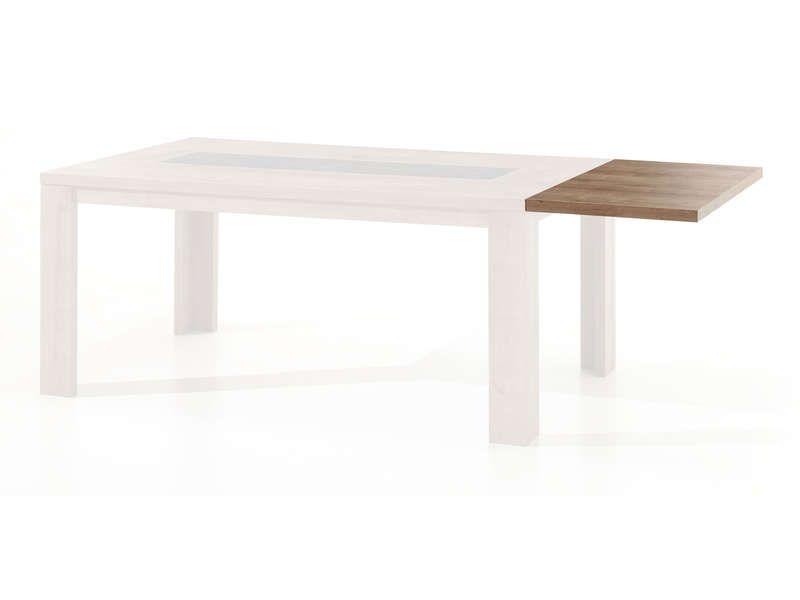 Allonge pour table rectangulaire brest brest conforama for Rallonge pour table rectangulaire