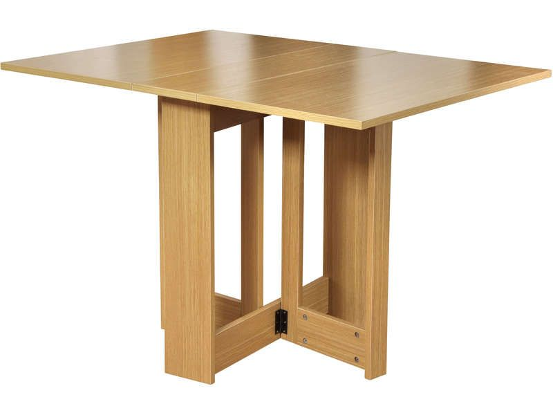 Meuble cuisine table conforama table extensible for Table rabattable conforama