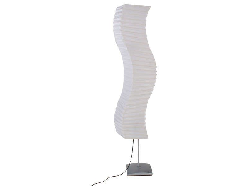 Lampadaire vag coloris blanc conforama pickture for Lampe salon pas cher