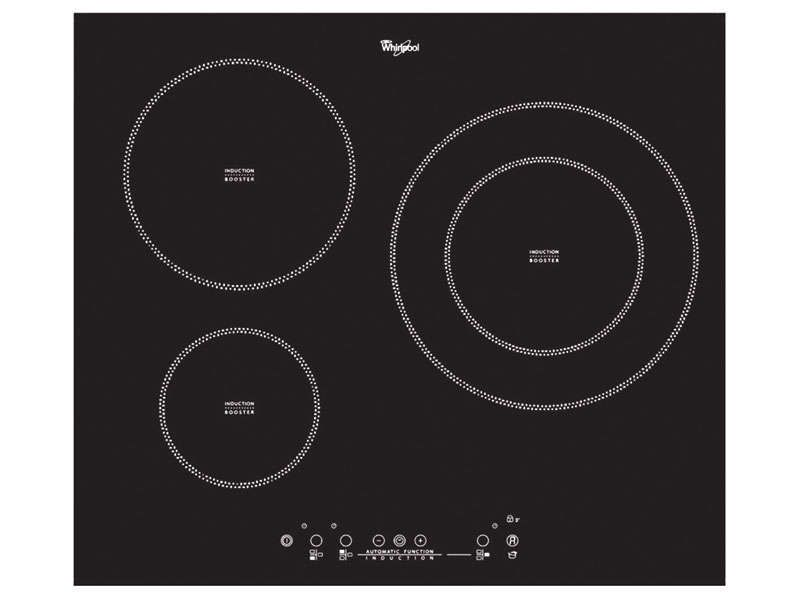 Plaque induction 3 foyers whirlpool acm 787 whirlpool - Plaque induction 3 foyers ...