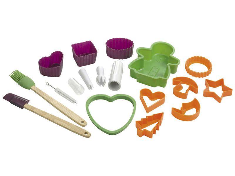 13 ustensiles de patisserie pour enfants child conforama pickture. Black Bedroom Furniture Sets. Home Design Ideas