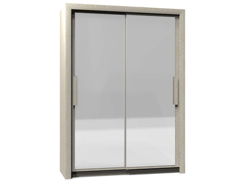 armoire 2 portes larg 154cm perfect coloris conforama
