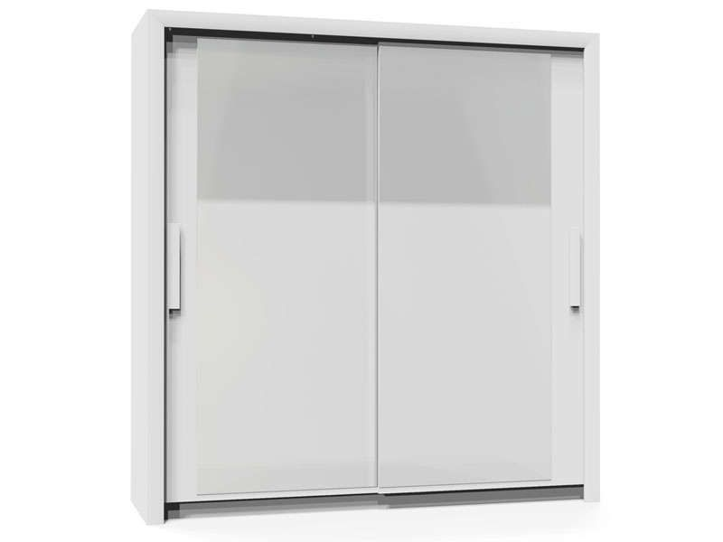 armoire 2 portes l201 cm perfect coloris blanc conforama. Black Bedroom Furniture Sets. Home Design Ideas