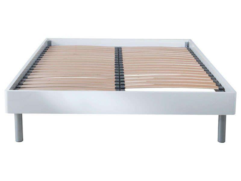 lit 160 cm sommier vendu s par ment easy 2 conforama. Black Bedroom Furniture Sets. Home Design Ideas