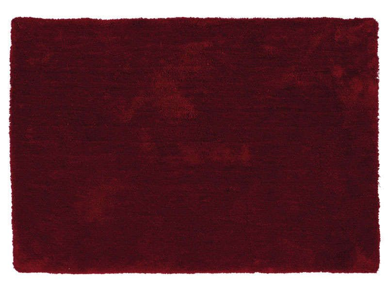 Tapis 120x170 Cm Velour Coloris Rouge Conforama Pickture