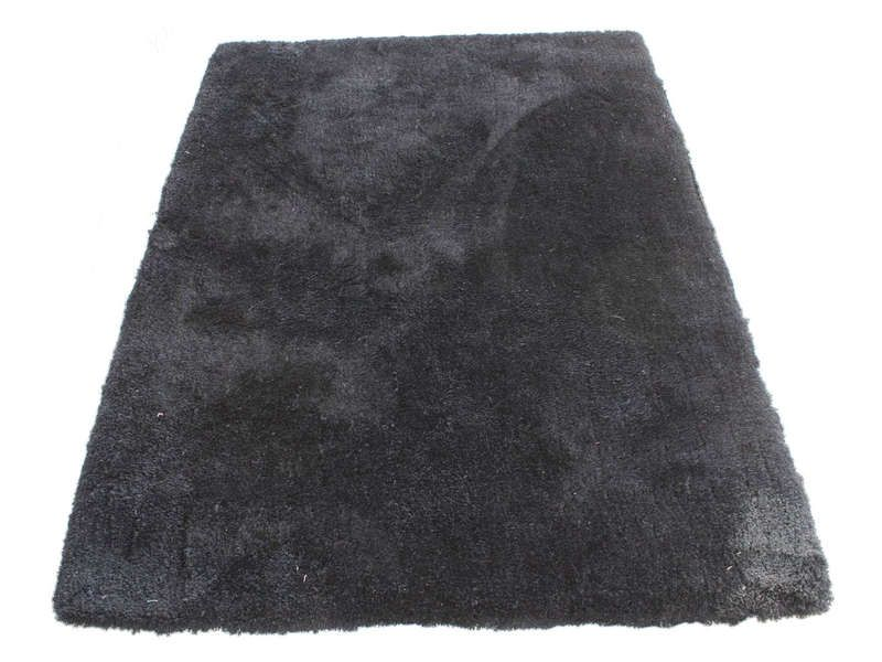 tapis 120x170 cm velour coloris noir conforama pickture. Black Bedroom Furniture Sets. Home Design Ideas