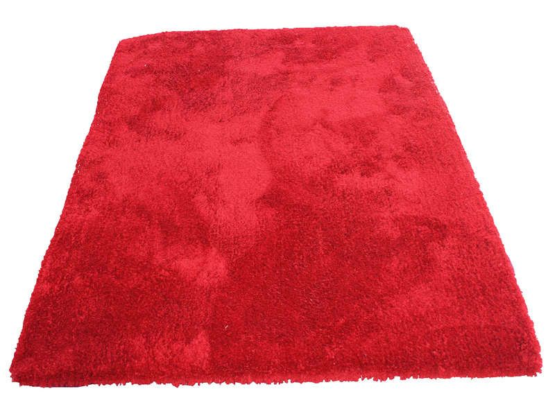 Tapis 160x230 cm velour coloris rouge conforama pickture - Tapis conforama 160x230 ...