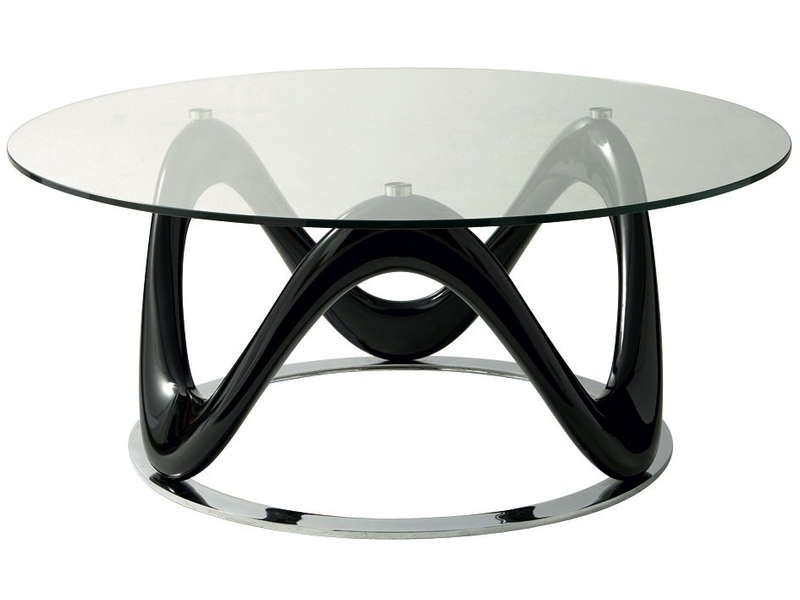 Table basse VALENTINE  Conforama  Pickture -> Table Ronde En Verre Conforama