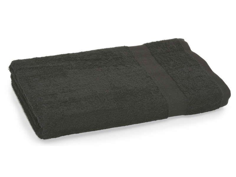 maxi drap de bain 180x100 cm talis coloris noir conforama pickture. Black Bedroom Furniture Sets. Home Design Ideas