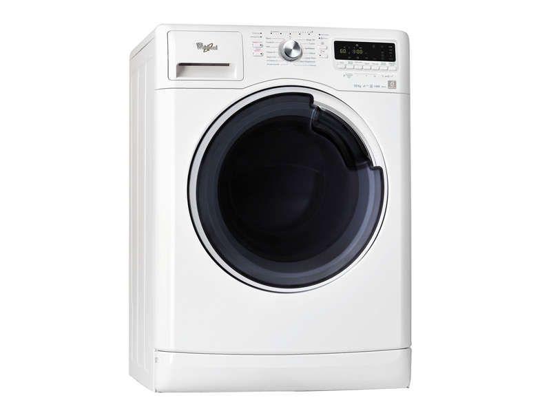lave linge frontal 10kg coloris blanc whirlpool. Black Bedroom Furniture Sets. Home Design Ideas