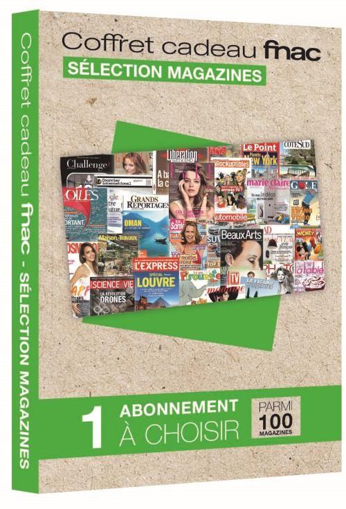 Coffret cadeau fnac 1 abonnement magazine d s fnac - Abonnement journal de la maison ...