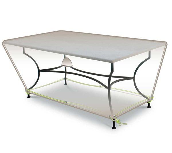 Housse de protection pour table rectangulaire 160 noname - Housse de protection table ...