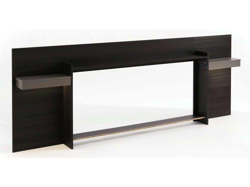 environnement 140 cm leds graphic coloris conforama. Black Bedroom Furniture Sets. Home Design Ideas
