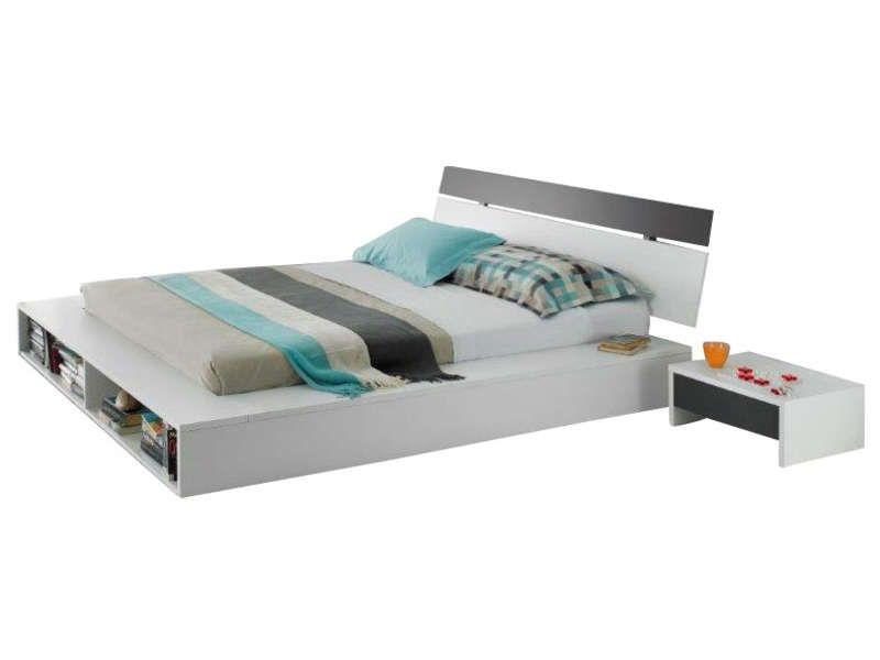 lit 140 cm avec t te de lit espace de conforama pickture. Black Bedroom Furniture Sets. Home Design Ideas